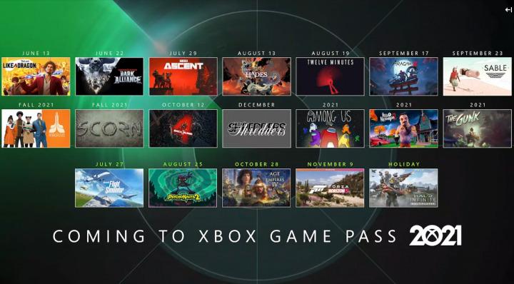 E3 2021 - Nuevos juegos llegan a Xbox Game Pass