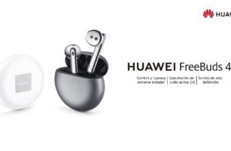 Huawei FreeBuds 4, auriculares TWS con ANC y adaptación abierta