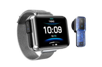 LEMFO T91, un peculiar Smartwatch con auriculares TWS incorporados