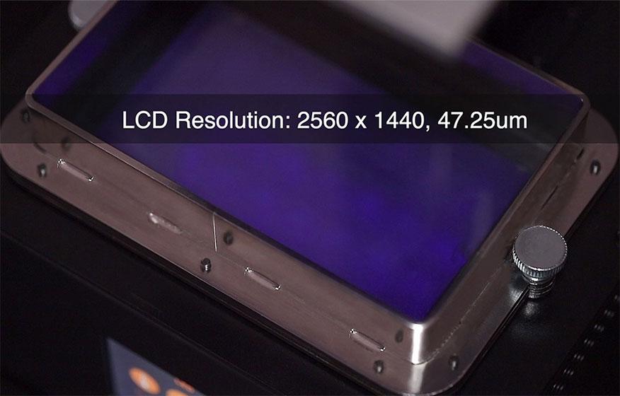 Pantalla LCD 2K