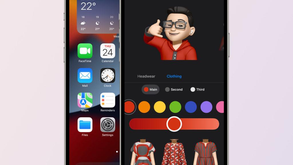 Los Memojis se actualizan con nuevos looks - iOS 15 Beta 2