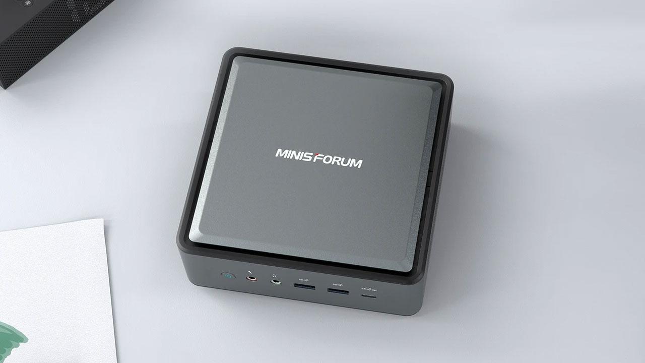 Minisforum HM50, un Mini PC muy completo con Ryzen 5 4500u a bordo