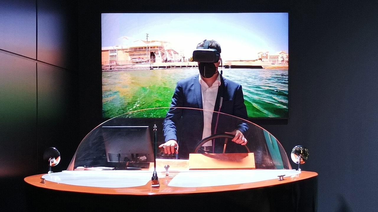Orange exhibe los usos del 5G -Navegar un barco remotamente
