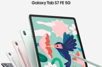 Samsung Galaxy Tab S7 FE, una tablet 5G puntera que llega a España