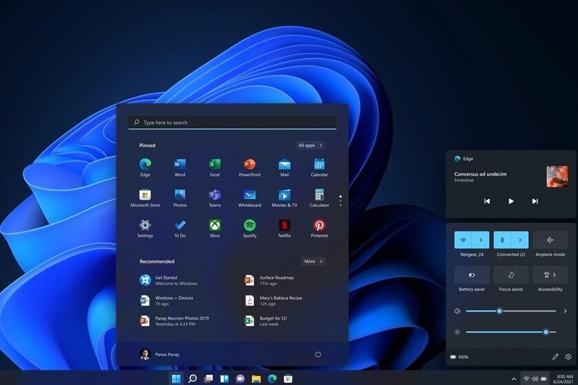 Windows 11 - Interfaz