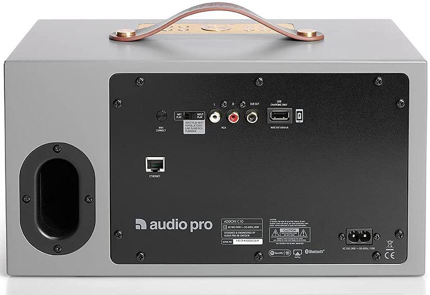 Audio Pro Addon C10 - Conectividad