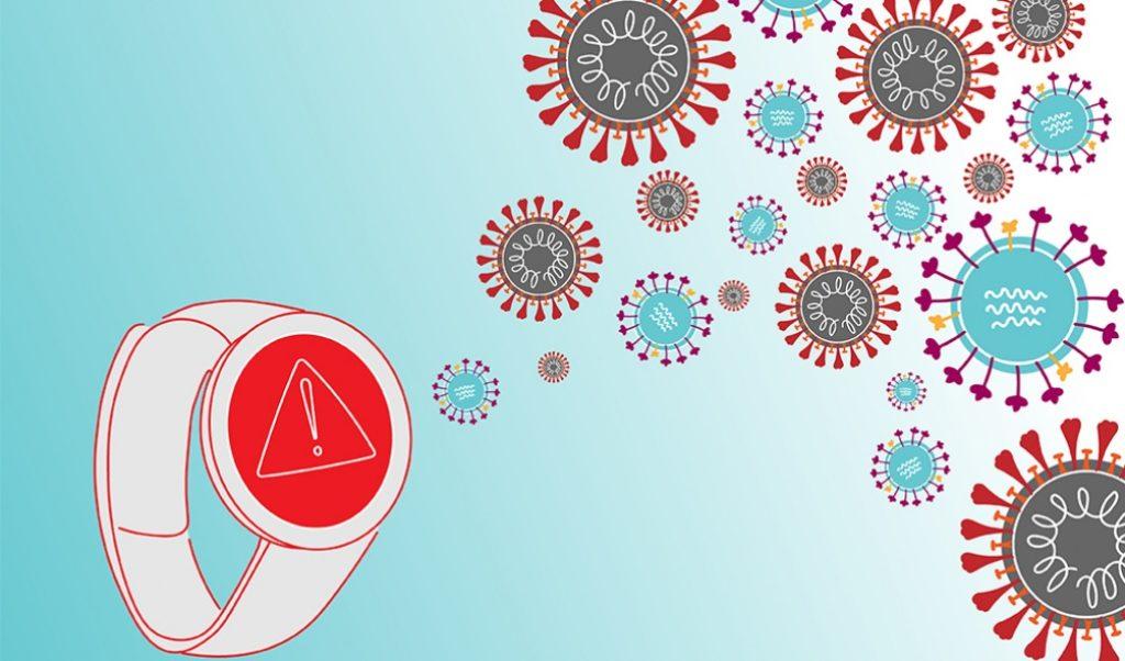 Los smarwatches pueden ayudar a detectar síntomas de covid-19