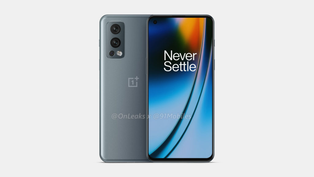 OnePlus Nord 2 5G - Renders no oficiales
