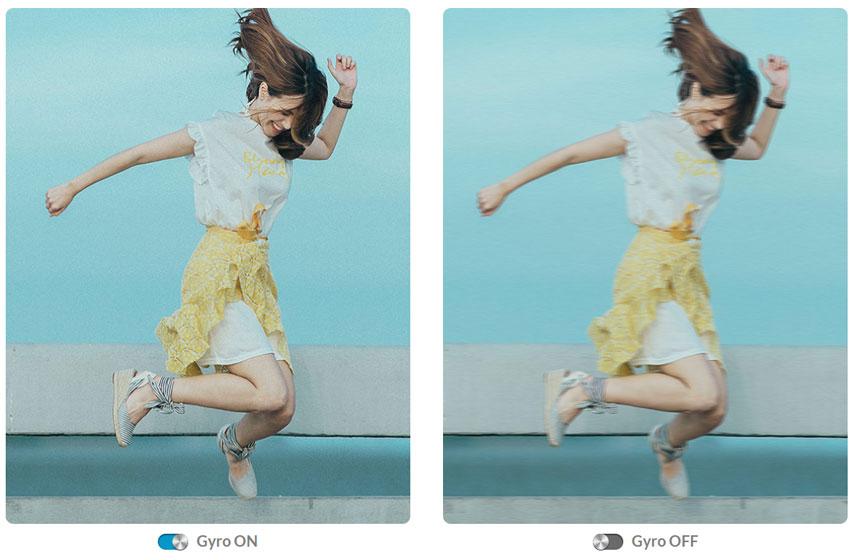SJCAM C200 - Estabilización de imagen