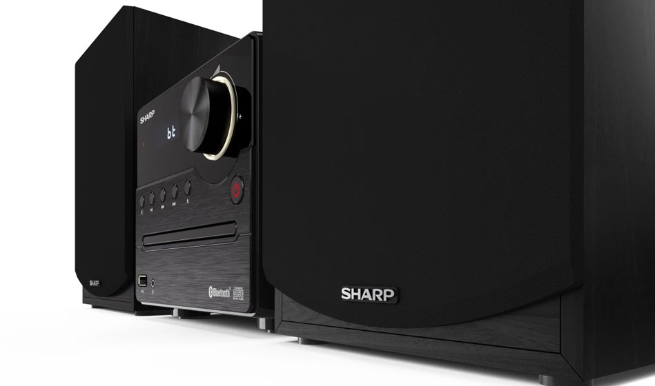 Sharp XL-B512 - Acabado de madera