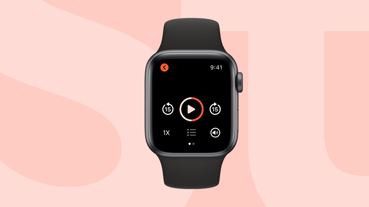 Storytel Apple Watch