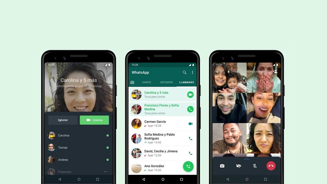 llamadas grupales de whatsapp