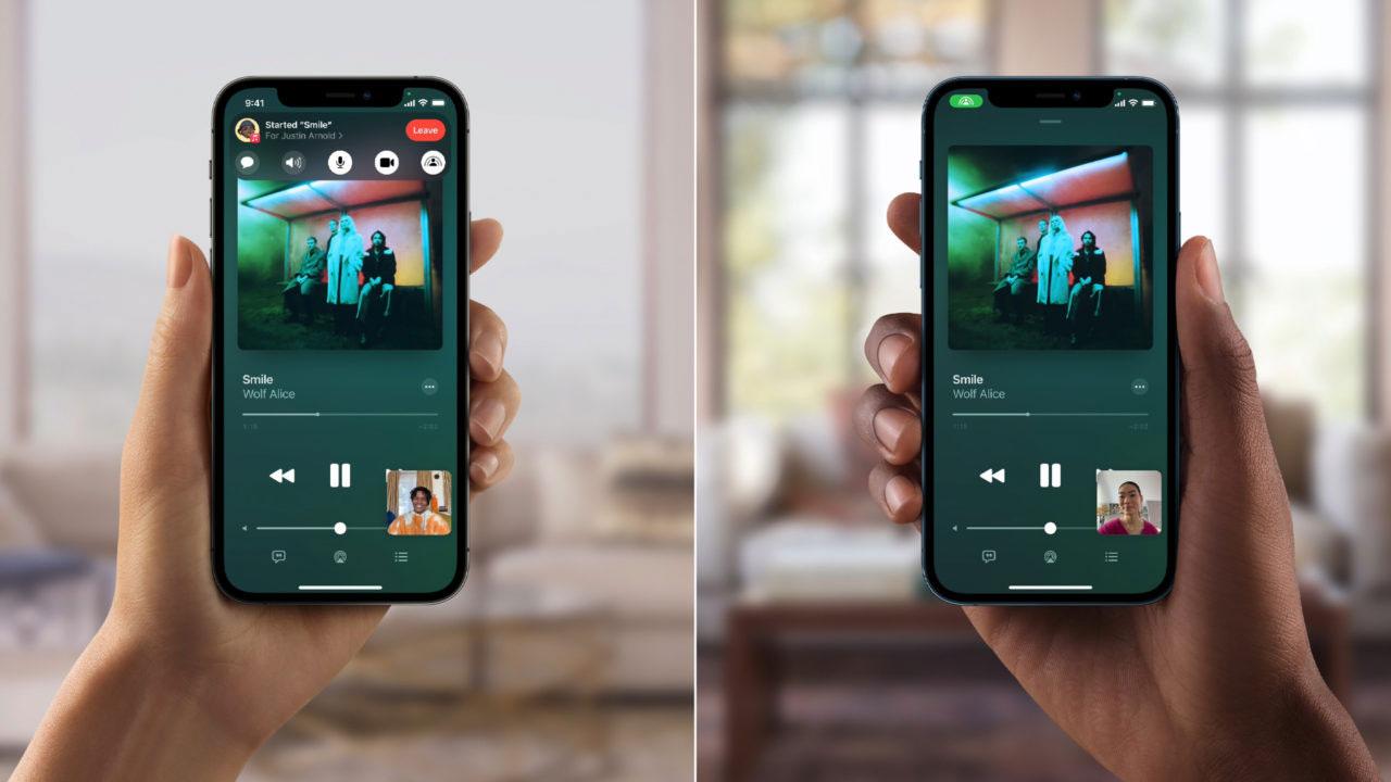 Apple anuncia que retrasa el lanzamiento de Share Play en iOS 15