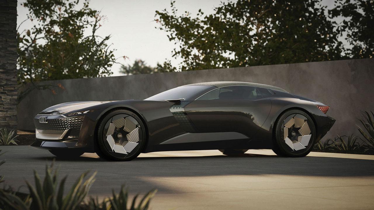 Audi Skysphere, un espectacular concepto de coche eléctrico deportivo