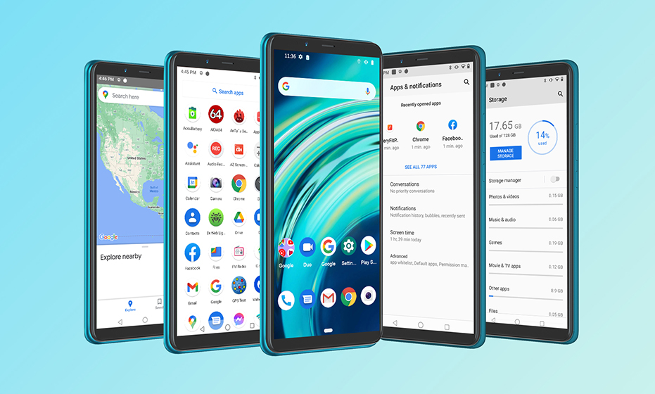 Cubot Note 9 - Android 11 de Stock