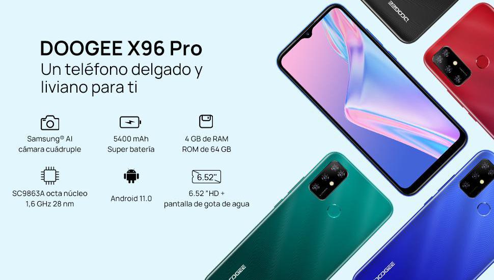 DOOGEE X96 Pro - Especificaciones