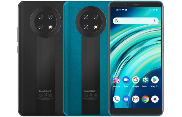 El Cubot Note 9 está disponible en dos presentaciones de color, negro y azul