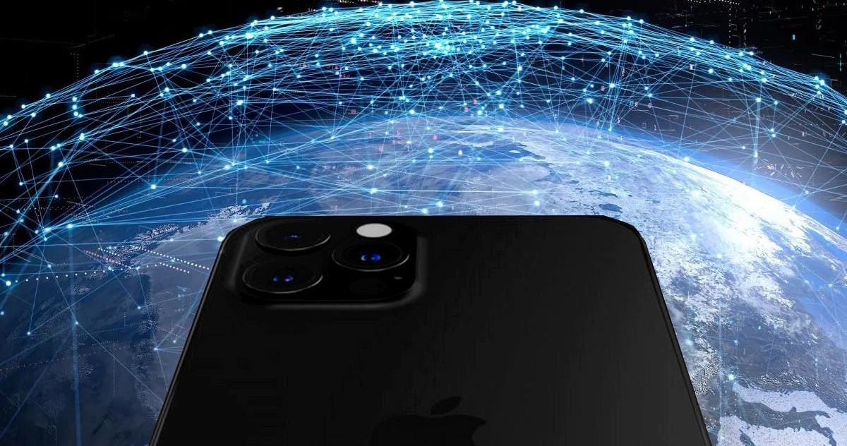 El iPhone 13 contará con comunicación satelital de órbita terrestre baja