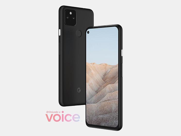 Google Pixel 5a según OnLeaks