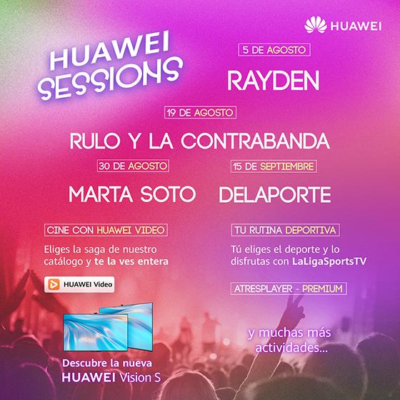 KV Huawei Vision Sessions