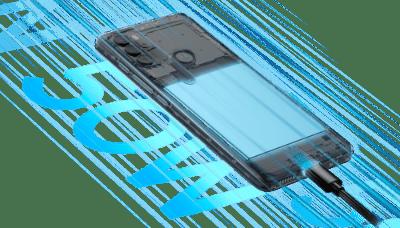 Motorola Moto G60S - Carga rápida