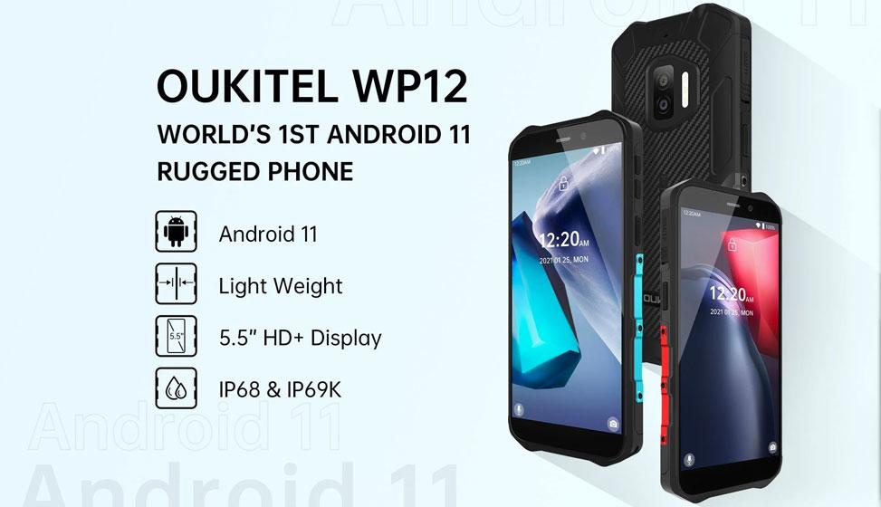 OUKITEL WP12 - Especificaciones