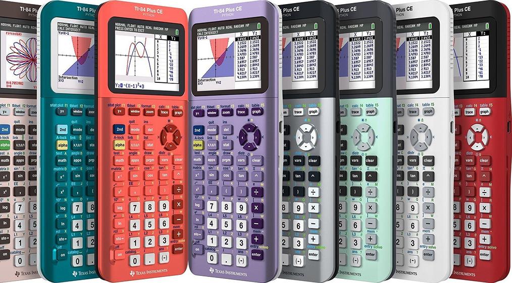 Texas Instruments TI-84 Plus CE Python