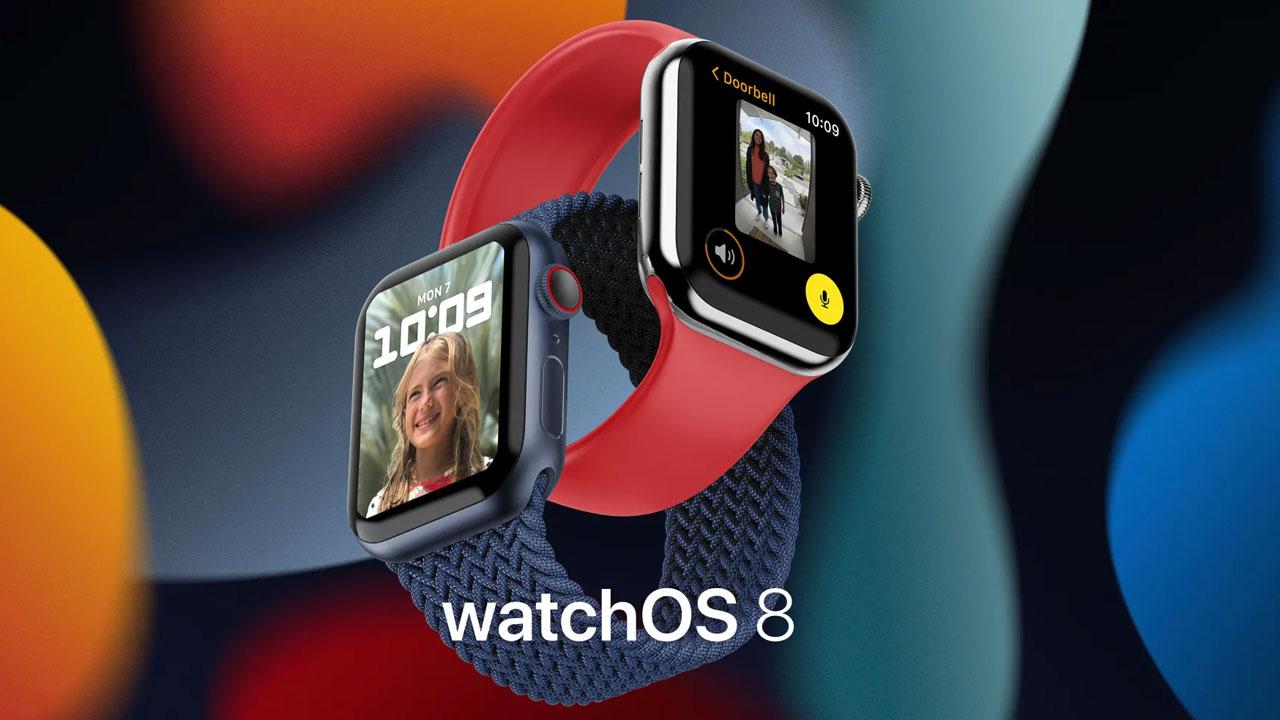 WatchOS 8, Apple libera la quinta beta para desarrolladores