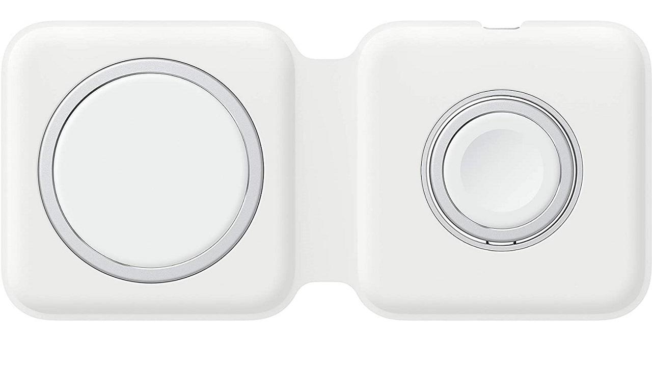 cargador doble MagSafe de Apple