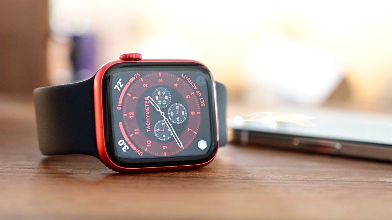 watchOS 8 en Apple Watch Series 6