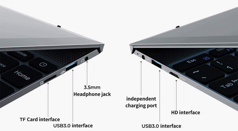 Conectividad e interfaces del XBOOK