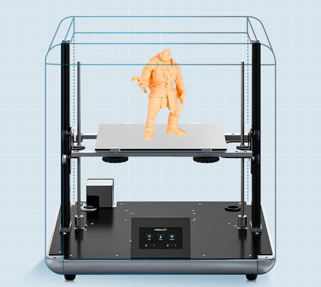 Creality Sermoon D1 - Impresión 3D