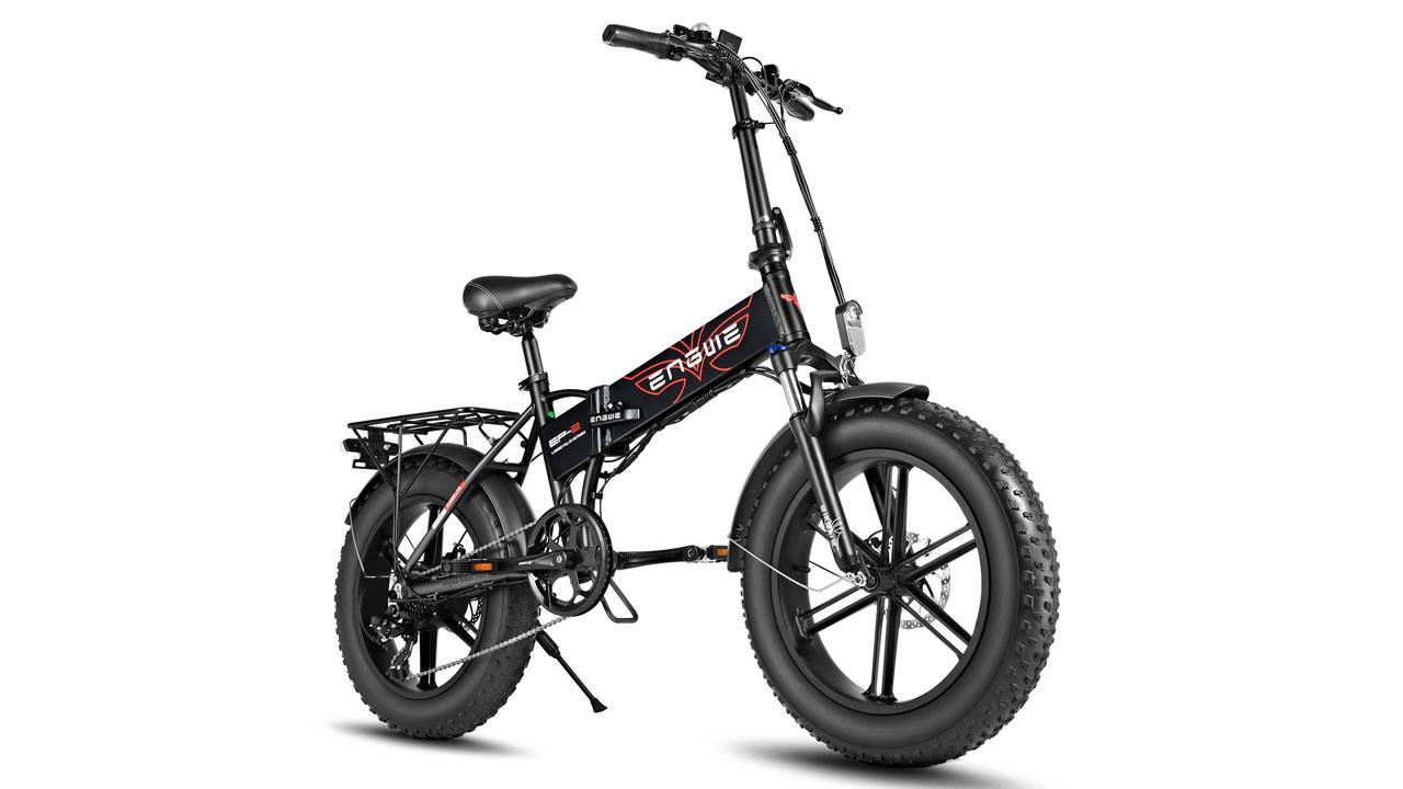 ENGWE EP-2 Pro, Bici eléctrica potente, plegable y muy versátil