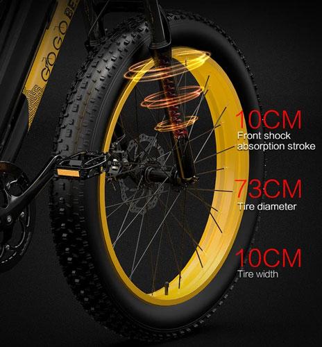 GOGOBEST GF600 - Neumáticos