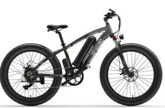 GOGOBEST GF600, una fat bike eléctrica para recorrer la montaña