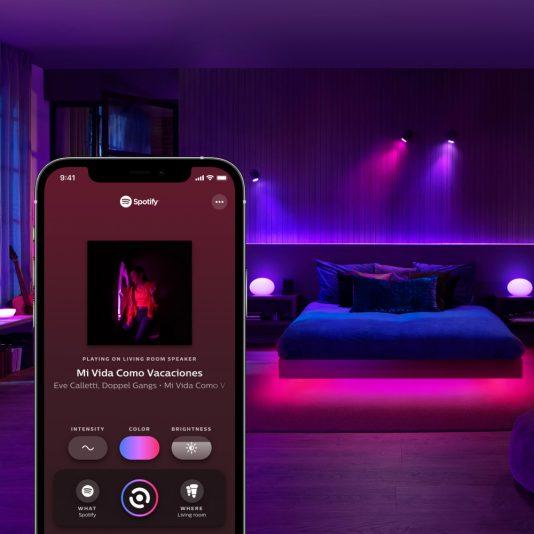 Philips Hue + Spotify integration