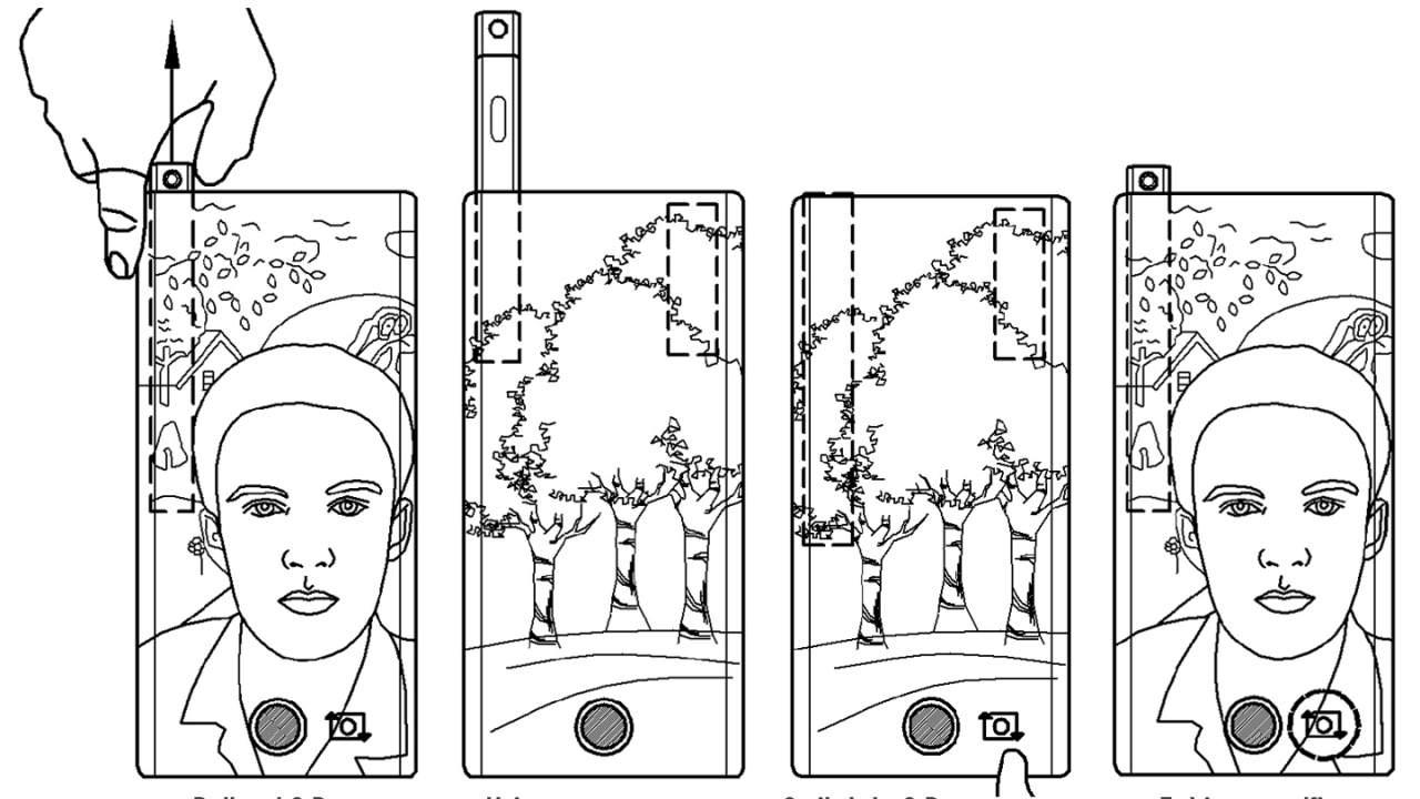S-Pen cámara patente