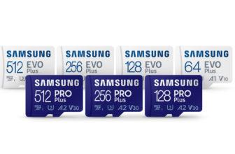 Samsung Micro-SD Pro Plus y EVO Plus, un nuevo nivel en tarjetas de memoria