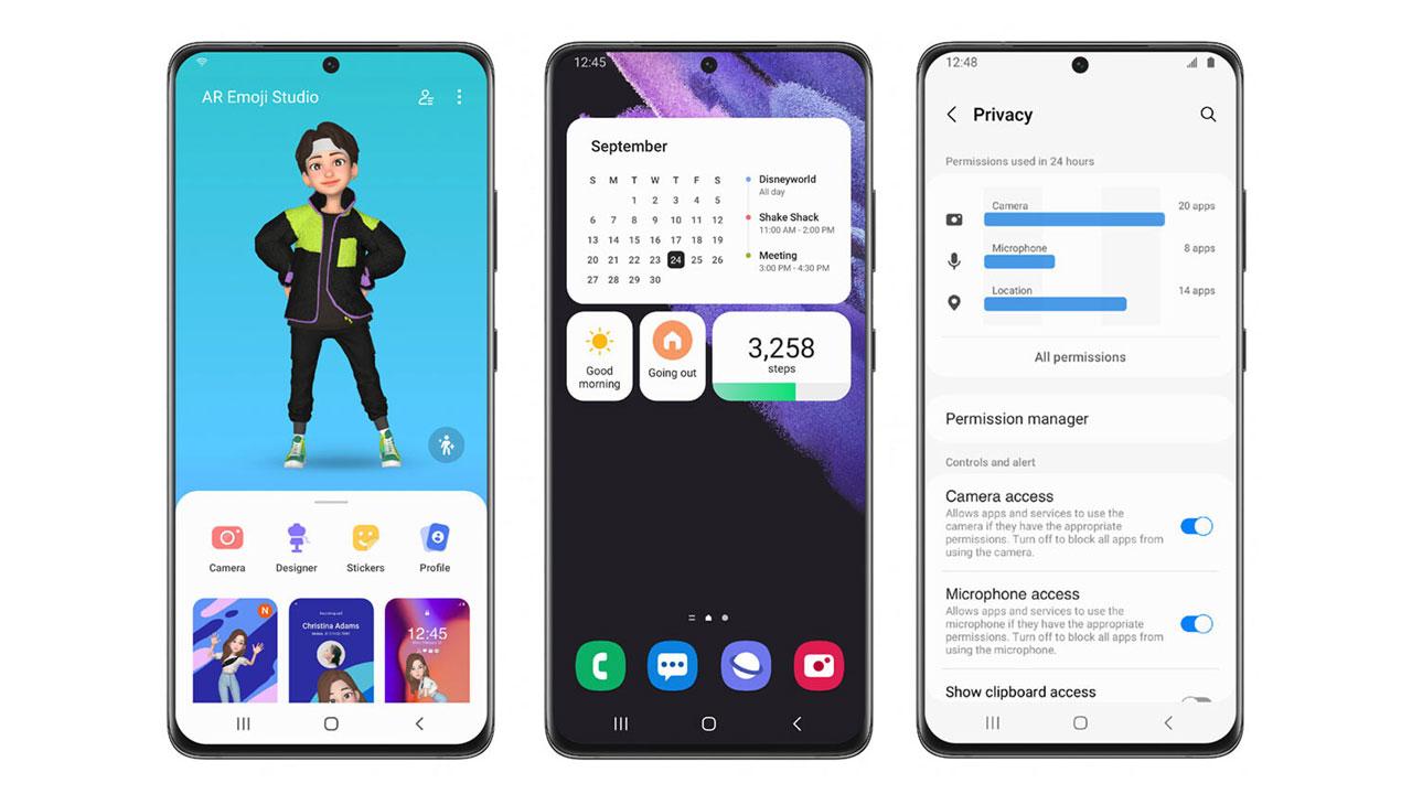 Samsung One UI 4 inicia su programa beta y estas son las novedades