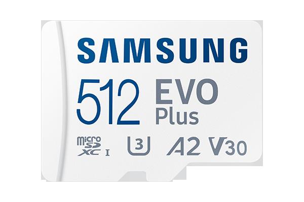 Samsung microSD EVO Plus 512GB