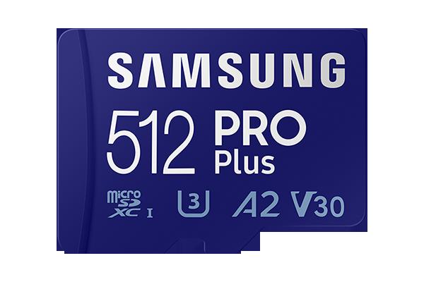 Samsung microSD PRO Plus 512GB