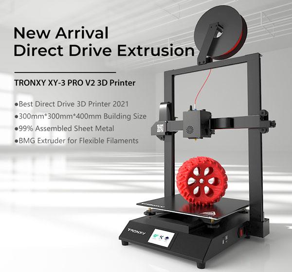 TRONXY XY-3 Pro V2 - Características de impresión