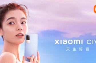Xiaomi CIVI, un móvil fotogénico y fotográfico dirigido al público joven