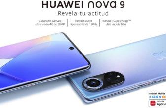 El Huawei Nova 9 llega a España con Android 11 en lugar de HarmonyOS