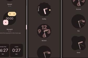 El Reloj de Google recibe nuevo diseño y widgets en su versión 7.1
