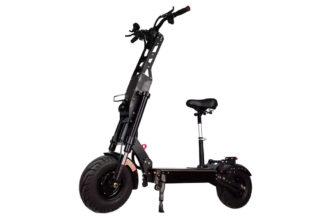 FLJ K6, un eScooter de élite tan veloz como una motocicleta