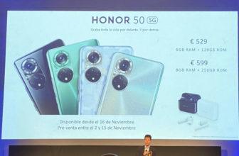 Honor 50 5G - Precio