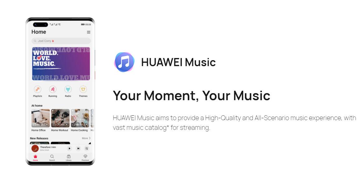 Huawei, de la tecnología a la industria musical