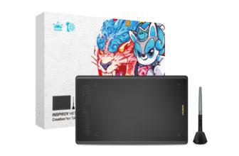 Huion Inspiroy H610X, una tableta de dibujo ideal para empezar
