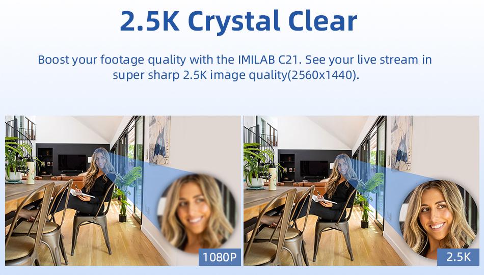 IMILAB C21 - Características de la cámara